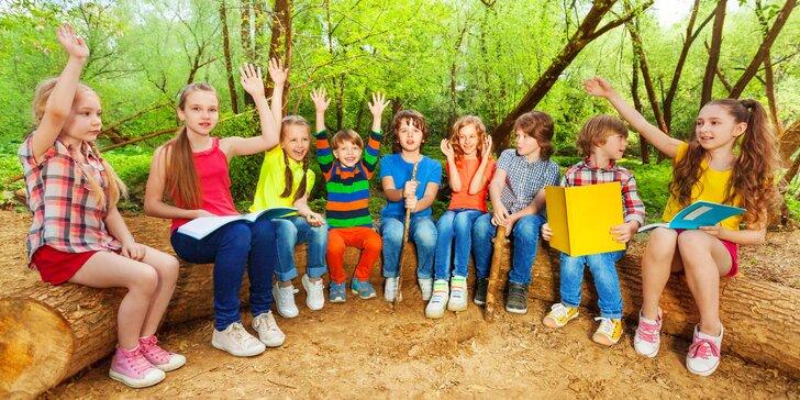 Cesta kolem světa za 5 dní: anglický příměstský tábor pro děti od 7 do 13 let