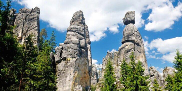 Dovolená v blízkosti Adršpachu s polopenzí – termíny přes léto až do podzimu
