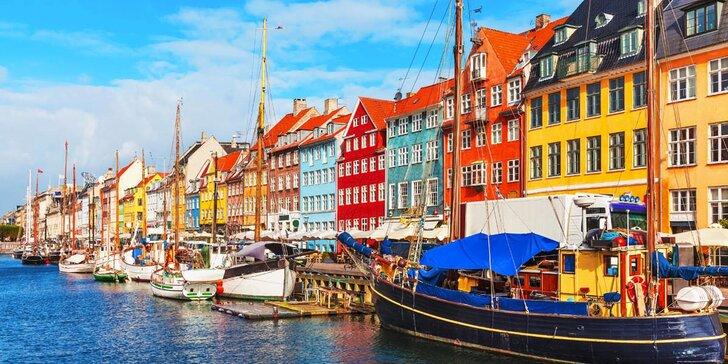Kodaň: severská metropole, kterou střeží malá mořská víla sedící na kameni