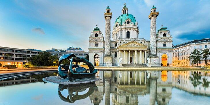 2 nebo 3 noci ve Vídni v hotelu 4* nedaleko romantického Schönbrunnu