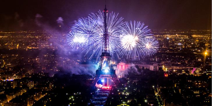 Paříž a velkolepá oslava Dne Bastily s ohňostrojem: 1x ubytování se snídaní