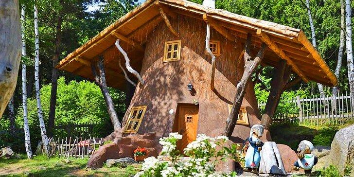 Kouzelná dovolená v Pohádkové vesničce pro rodiče a dvě děti do 12 let