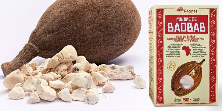 Bonbony a prášek z baobabu: bezlepková superpotravina plná vlákniny a minerálů