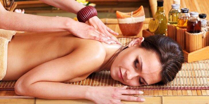 Klasická švédská masáž celého těla + zábal dle výběru