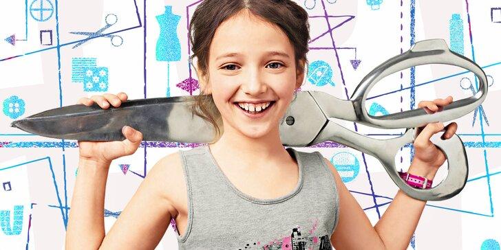 Dětský kurz šití s časopisem Burda Style – 10 kreativních lekcí na Floře