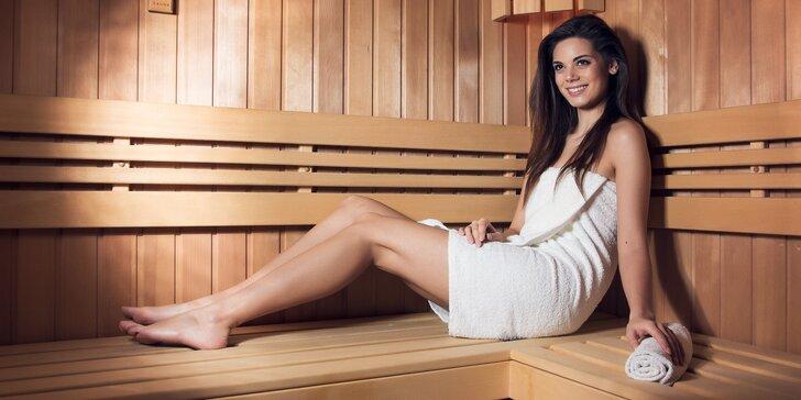 Hurá do sauny: 90 minut privátní relaxace až pro 4 osoby a limonáda k tomu
