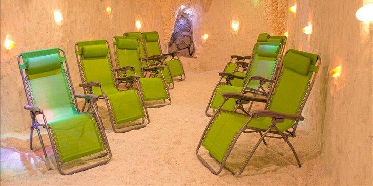 Vstupy i permanentky do solné jeskyně v Kotvě: posilujte imunitu