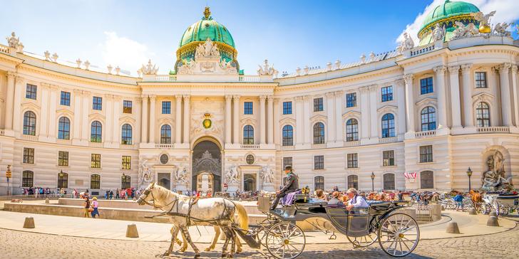Vídeň, po stopách Habsburků a výstavy Marie Terezie - 300 let od jejího narození