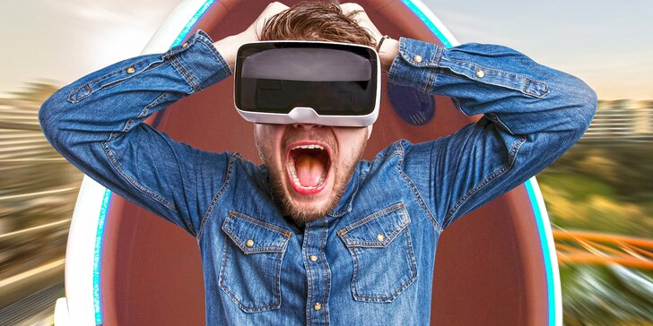 Vstupte do 9D prostoru: 6 minut virtuální reality v pohyblivém vajíčku