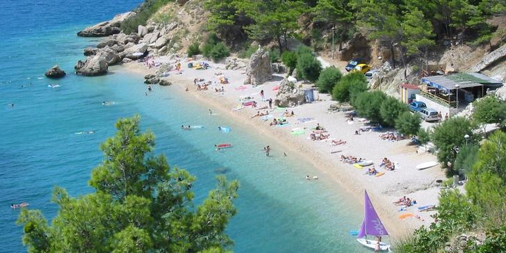 Letní dovolená u Jadranu v městečku Mimice na Omišské včetně polopenze