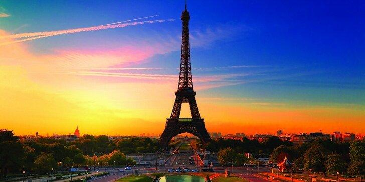 Poznejte slavné památky během jarního výletu do Paříže