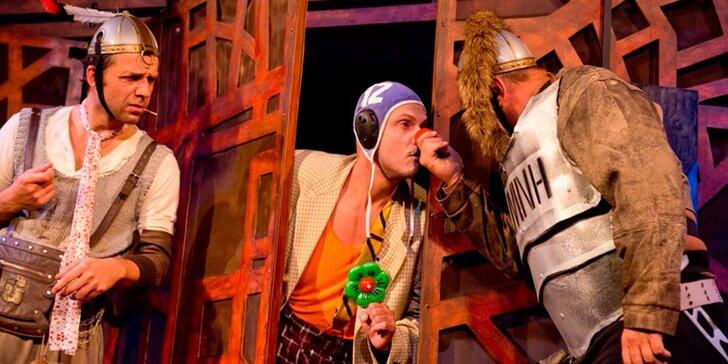 Divadelní představení Muži ve zbrani aneb Celá Zeměplocha jest jevištěm