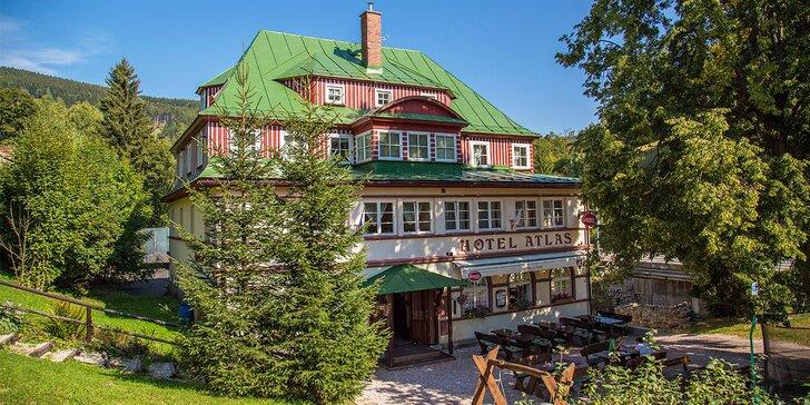 Turistika v srdci Krkonošského národního parku: až 6 dnů v hotelu Atlas s polopenzí