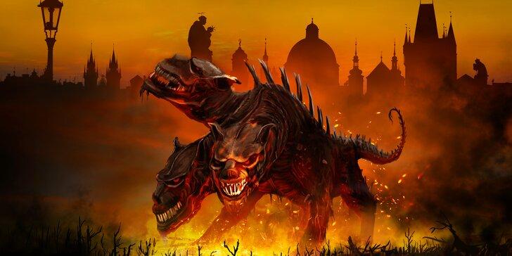 Outdoorová únikovka Smlouva s peklem: město plné úkolů a šifer pro 6 hráčů
