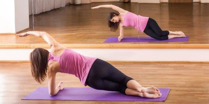 Lekce pilates ve studiu v Pilates 4U - vstup nebo permanentka