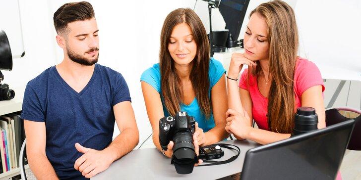 Dokonalé fotografie na 1. pokus: Skupinový či individuální fotokurz