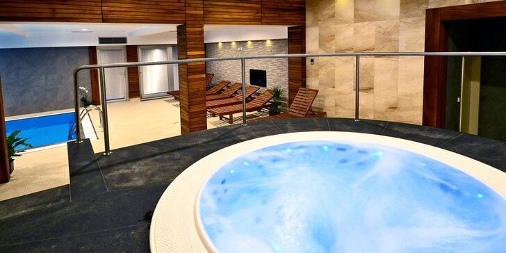 3–4 denní relax pro 2 u Brněnské přehrady s masáží, luxusním wellness a polopenzí