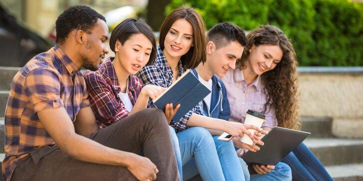 Intenzivní letní kurz angličtiny pro všechny úrovně: v učebnách i ulicích města