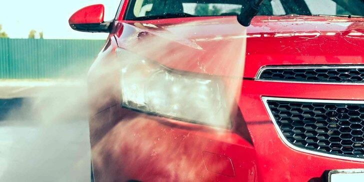 Ruční mytí vašeho vozu dle výběru s možností tepování