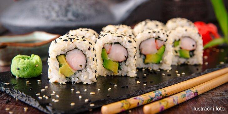 Prosím, nerušit: 28 kousků čerstvého sushi pro milovníky japonské kuchyně