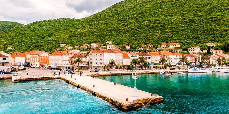 Dovolená v kraji ústřic a mušlí: 7 nocí v chorvatském penzionu 200 m od pláže