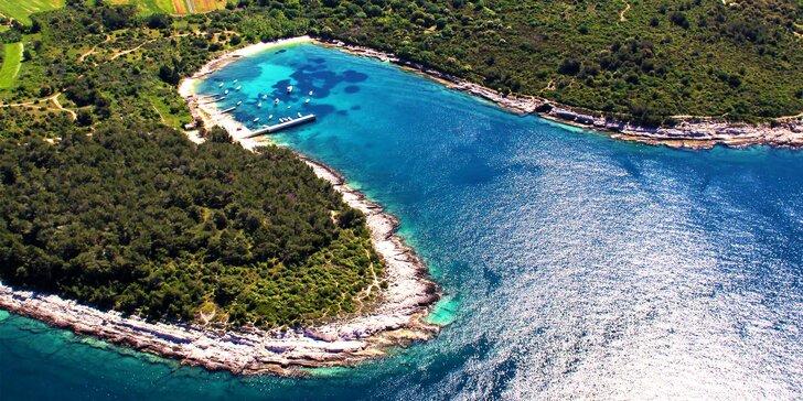 Krásná jižní Istrie: 7 nocí v apartmánu pro 3 osoby u přírodní rezervace Kamenjak