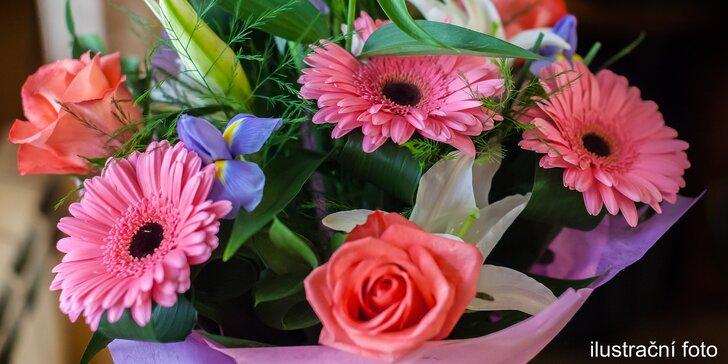 Udělejte někomu radost větší nebo menší kyticí z čerstvých květin