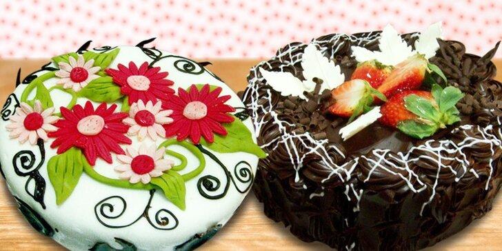 Neodolatelné dorty z kvalitních surovin z cukrárny Merlot