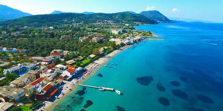 Dovolená na řeckém ostrově Korfu: letecky, s polopenzí, jen 50 metrů od pláže