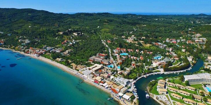 All inclusive dovolená na Korfu: letecká doprava a hotel jen 50 metrů od pláže