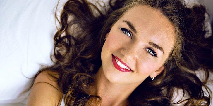 Kompletní kosmetické ošetření vč. laseru a kyseliny hyaluronové