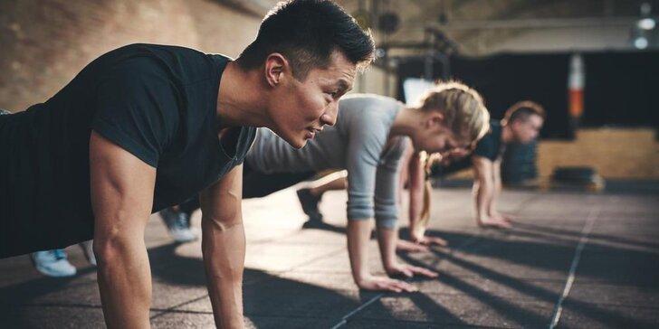 Trénuj a bav se od srpna - 4týdenní fitness kurz pro muže