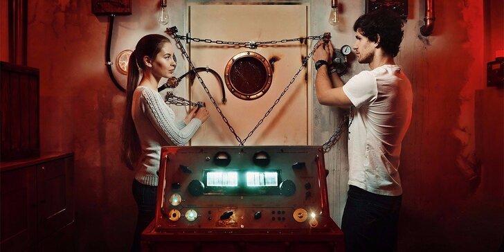 Záhadná únikovka Experiment: Ponořte se do tmy a zapojte všechny smysly