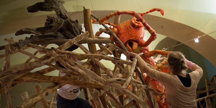 Rodinné vstupné do Sladovny – galerie hrou s řadou interaktivních výstav