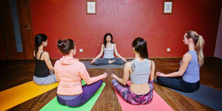 Měsíční permanentky na power yogu do Dance & Yoga Studia
