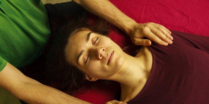 90minutová harmonizace a relax pomocí kraniosakrálni terapie
