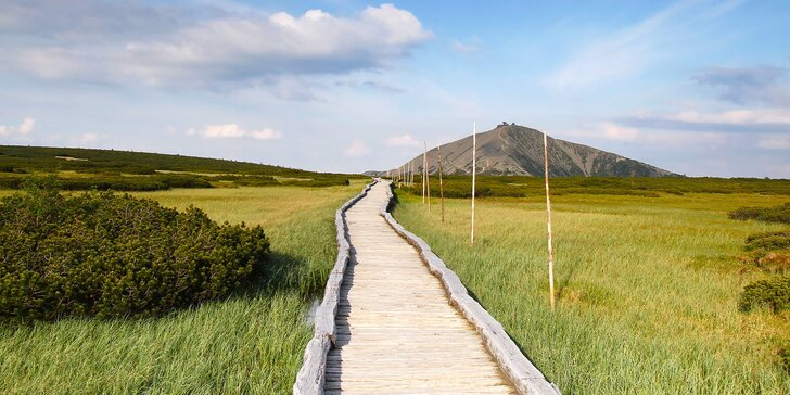 Kráčejte krkonošskou přírodou - ubytování v chatě pro dvojici nebo rodinu