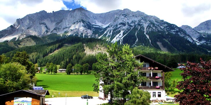 Za túrami do Dachsteinu: pobyt se snídaní, neomezenou saunou a kartou výhod