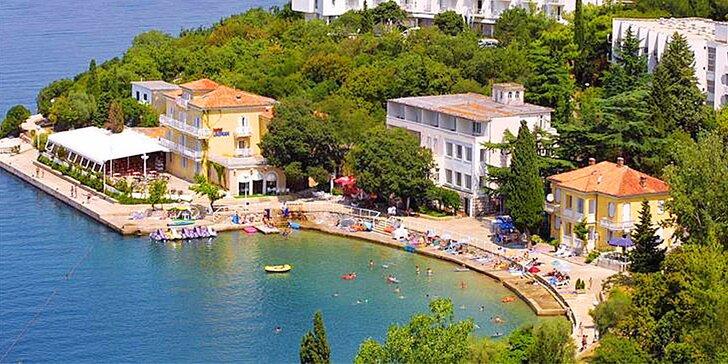 Propadněte kouzlu chorvatského léta na Krku: polopenze a možnost dopravy