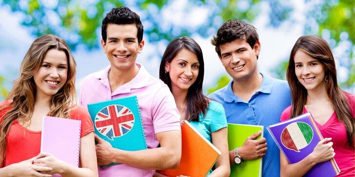 Intenzivní letní kurzy angličtiny a italštiny: týden pro začátečníky i pokročilé