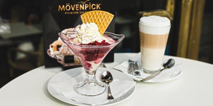 Sladké chvíle pod Vítkovem: libovolný zmrzlinový pohár s nápojem nebo bez