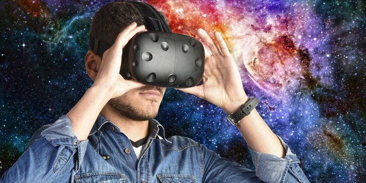 Navštivte virtuální realitu – barevný svět plný zábavy a interakce s okolím