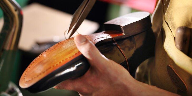 O vaše botky se postarají jako o vlastní: podražení podpatků nebo podrážky