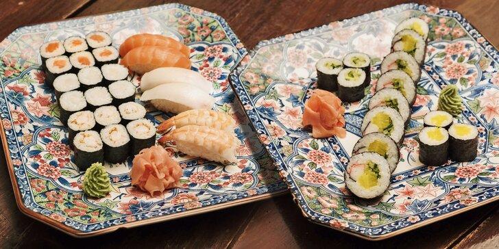 Takhle chutná Asie: plněné taštičky a božský sushi set pro dospělého nebo dítě