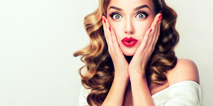 Permanentní make-up obočí, horních očních linek nebo rtů