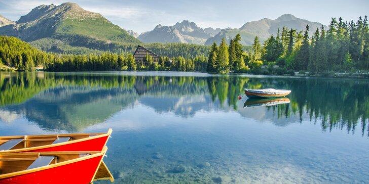 Až 6 dnů pohodové dovolené ve Vysokých Tatrách se snídaní a saunou