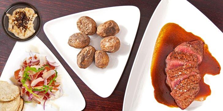 Gastronomie, co má renomé: 5chodové menu pro dva, možno i s vínem