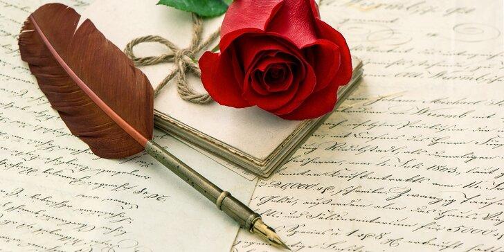 Báseň na přání - k jmeninám, narozeninám, svatbě a jiným příležitostem