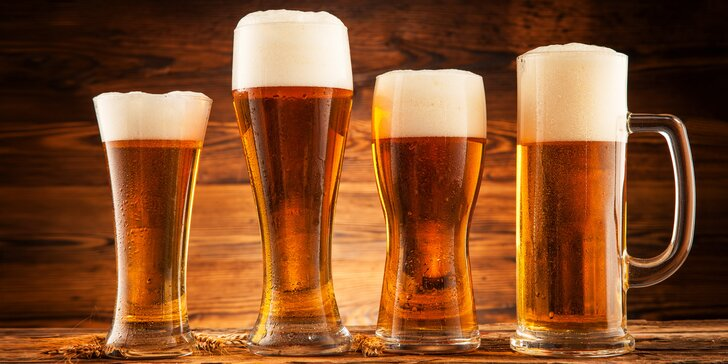 To nejlepší z čepu: 4, 8 nebo 10 půllitrů napěněného piva podle vašeho gusta