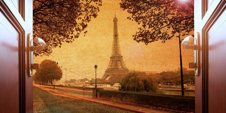 Londýnské podsvětí, tajemná Paříž a divoký západ: únikové hry pro 3-5 hráčů